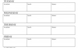 000 Staggering Weekly Eating Plan Template High Resolution  Food Planner Excel Meal Download