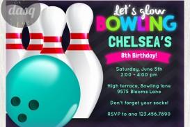 000 Stirring Bowling Party Invite Printable Free High Def  Birthday Invitation