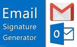 000 Stirring Email Signature Design Outlook Free Highest Clarity