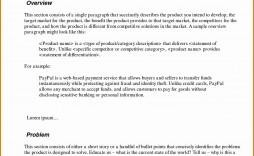 000 Stirring Executive Summary Template Word Free Sample