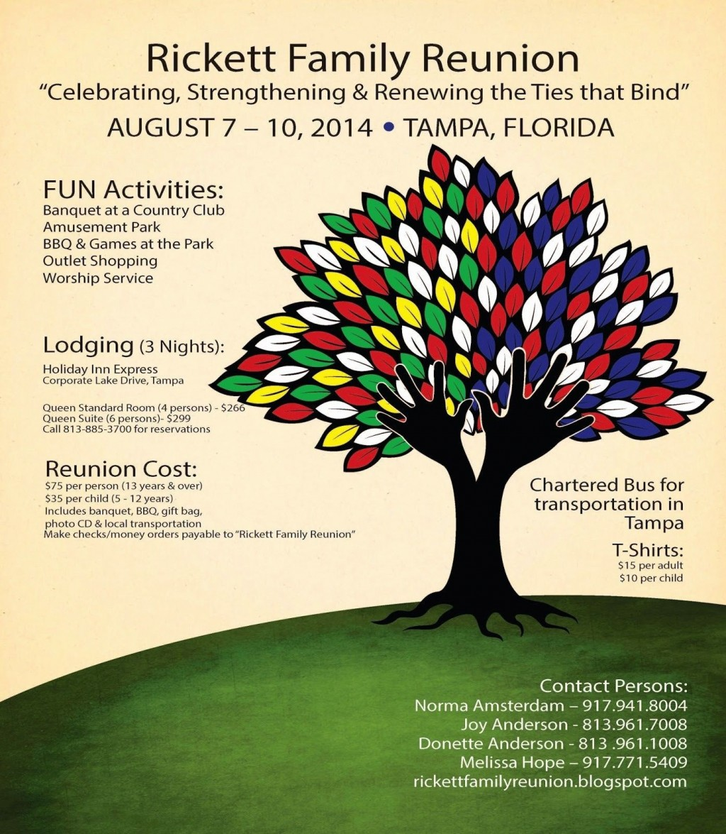 000 Stirring Family Reunion Flyer Template High Def  Templates Free ForLarge