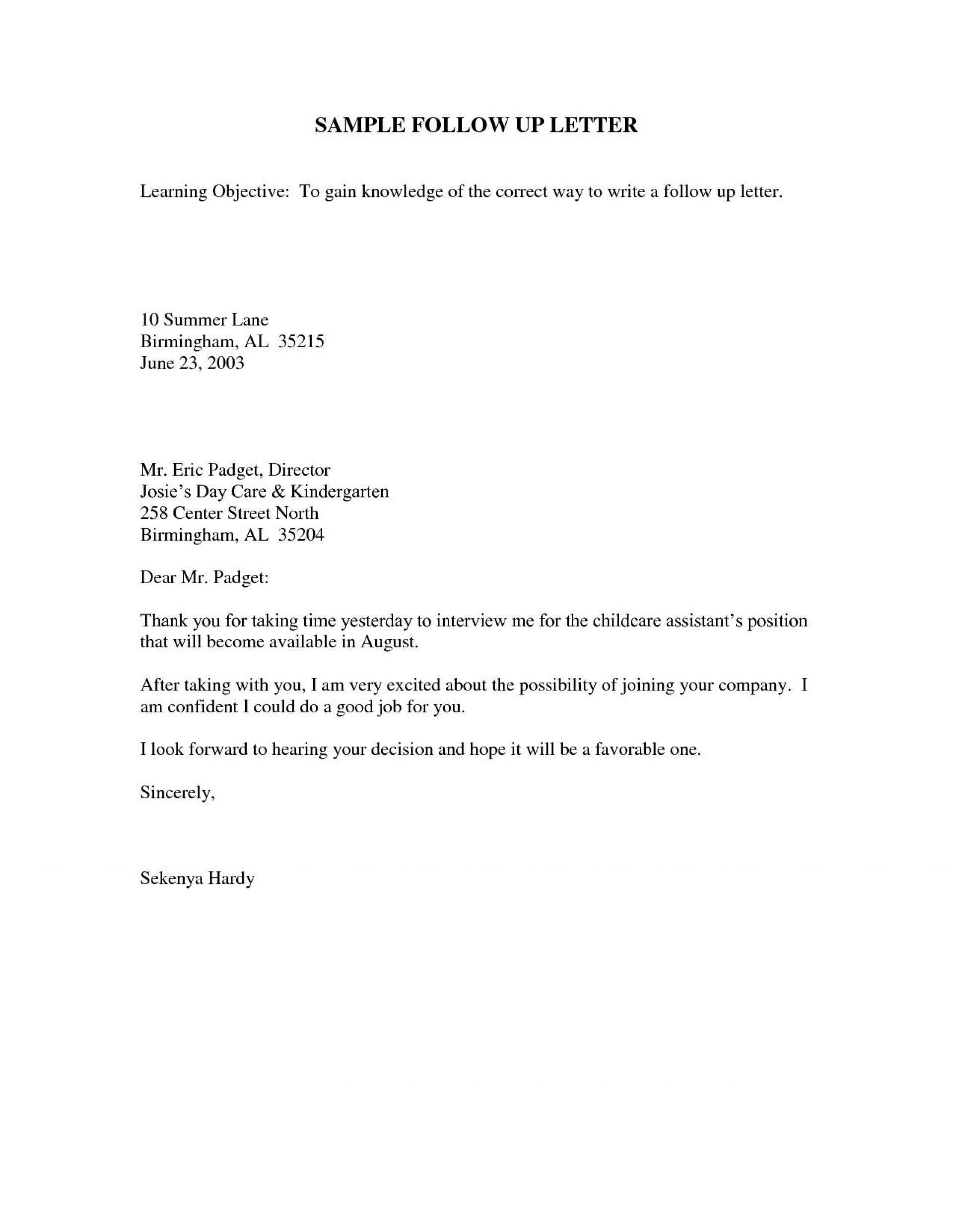 000 Stirring Follow Up Email Template Interview Highest Clarity  Sample For Statu After Second Before Job1920