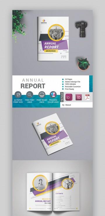 000 Stirring Free Annual Report Template Indesign Sample  Adobe Non Profit360