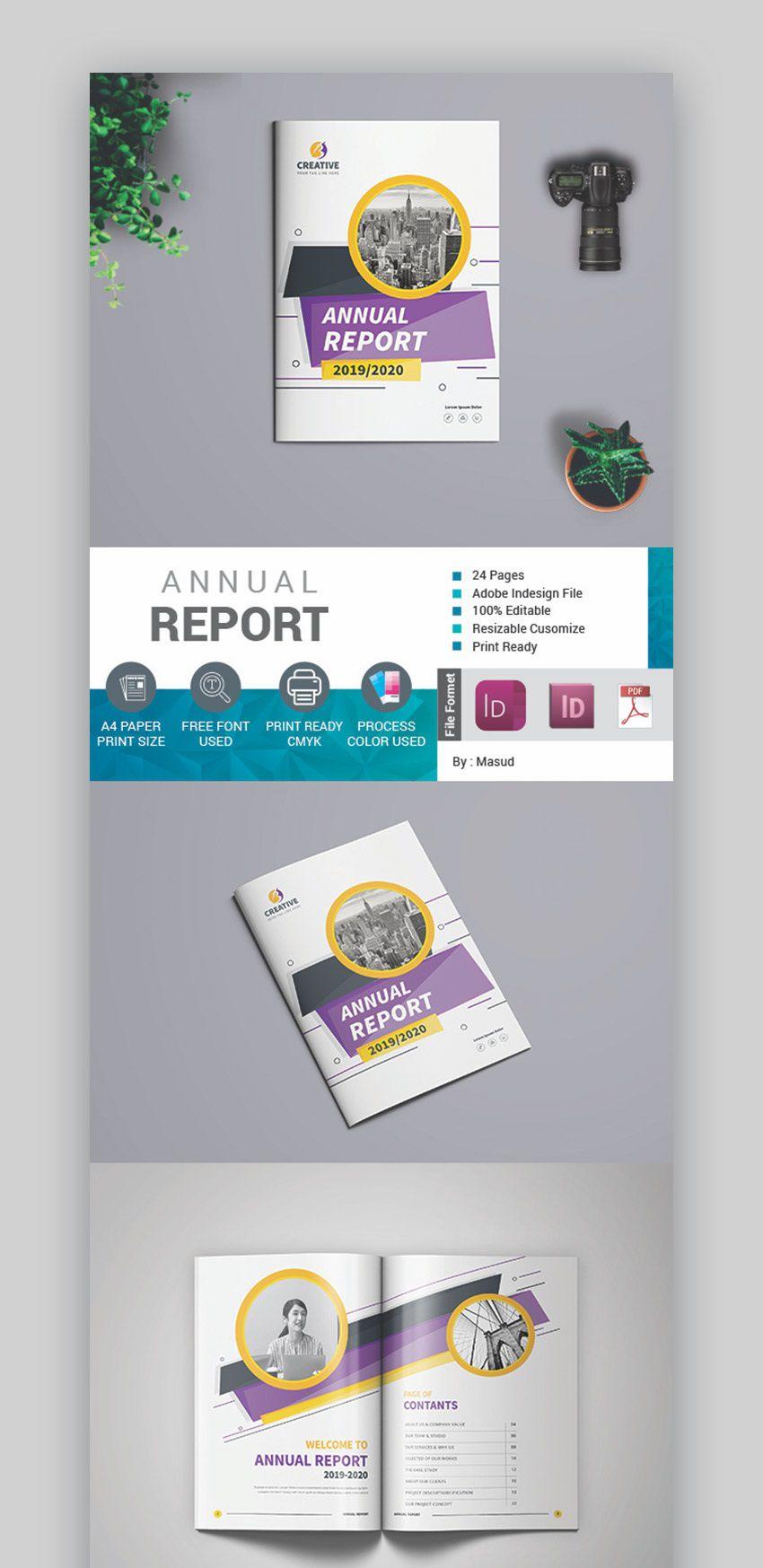000 Stirring Free Annual Report Template Indesign Sample  Adobe Non ProfitFull