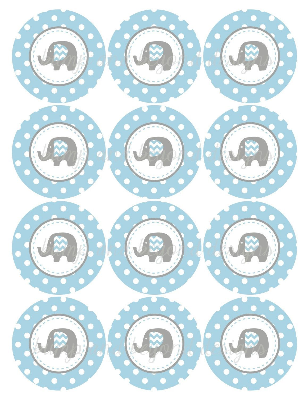 000 Stirring Free Baby Shower Printable Elephant Highest Quality  DecorationFull