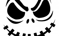 000 Stirring Free Pumpkin Template Printable Image  Easy Carving Scary Stencil