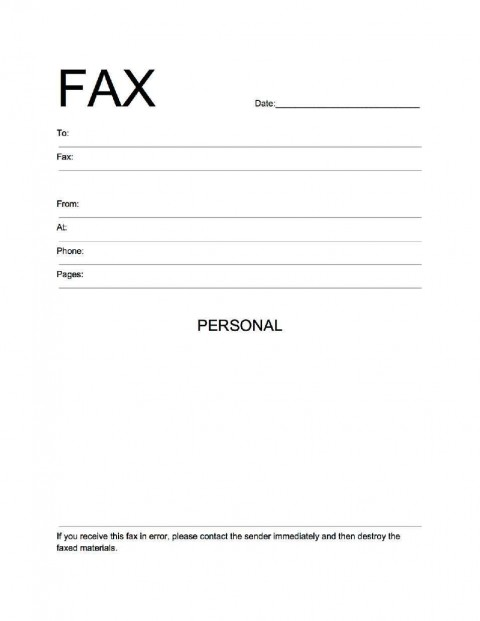 000 Stirring General Fax Cover Letter Template Sample  Sheet Word Confidential Example480