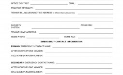 000 Stirring New Busines Client Information Form Template Highest Clarity