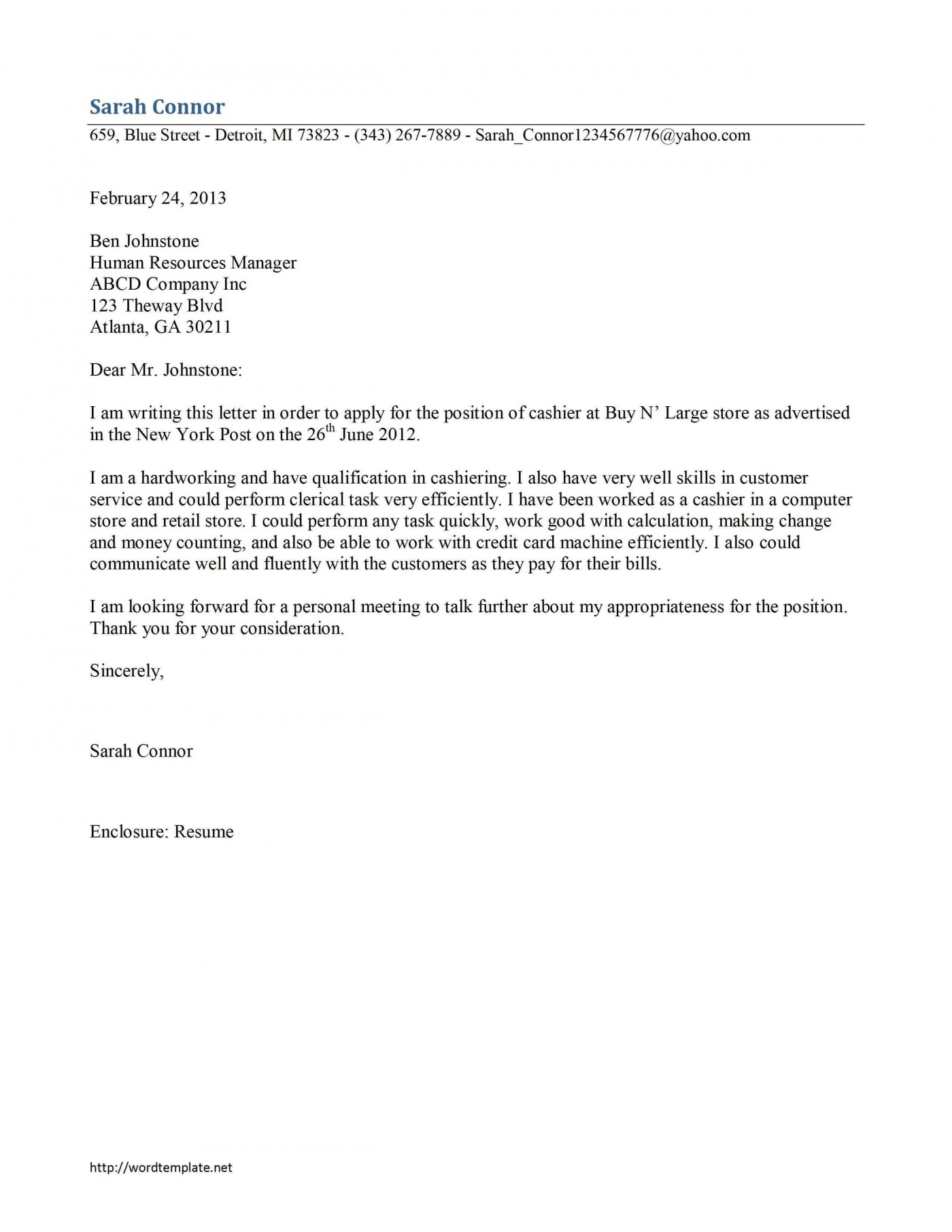 000 Stirring Resume Cover Letter Template Microsoft Word Picture 1400
