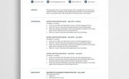 000 Stirring Resume Template Free Word Inspiration  Download Cv 2020 Format