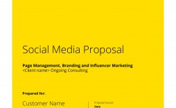 000 Stirring Social Media Proposal Template Example  Ppt Marketing Word 2019