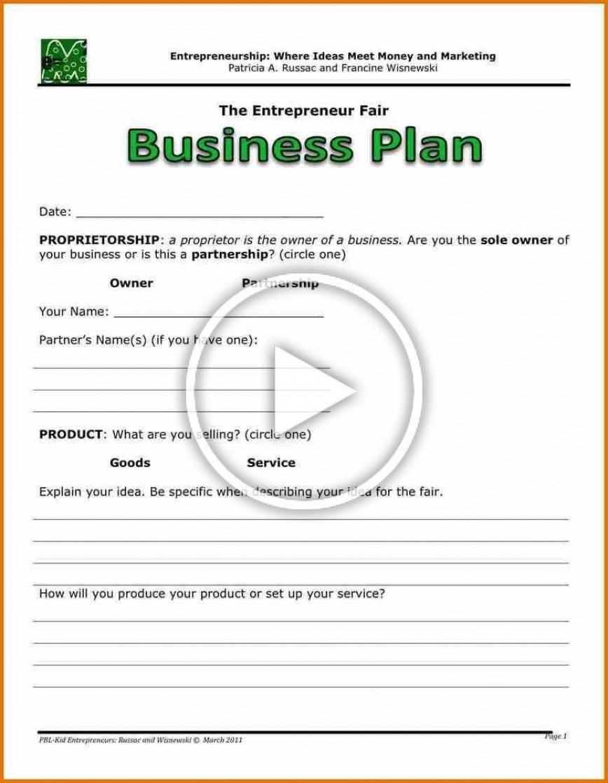 000 Stirring Startup Busines Plan Example Doc Design  Sample
