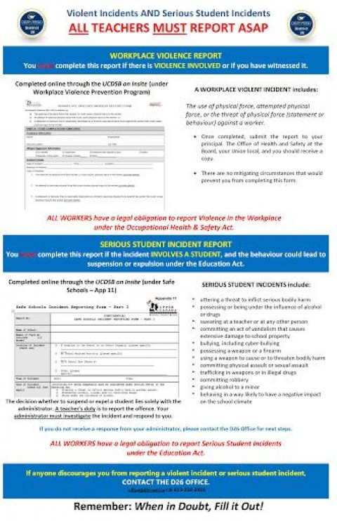000 Stirring Workplace Injury Report Form Ontario Sample  Incident Violence480