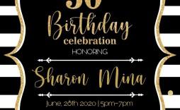 000 Striking 50th Wedding Anniversary Invitation Template Microsoft Word Image  Free