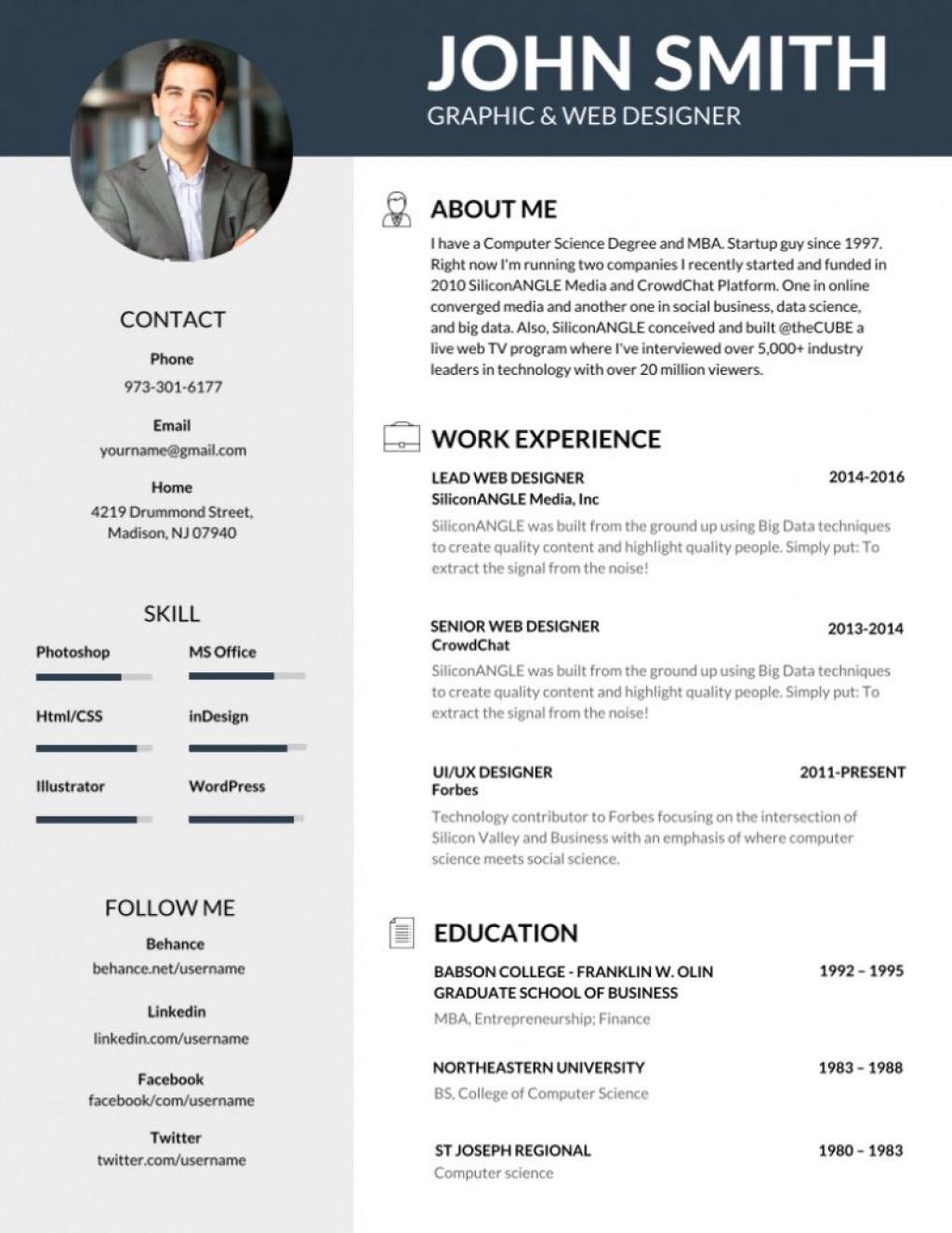 000 Striking Best Professional Resume Template Highest Quality  Reddit 2020 DownloadLarge