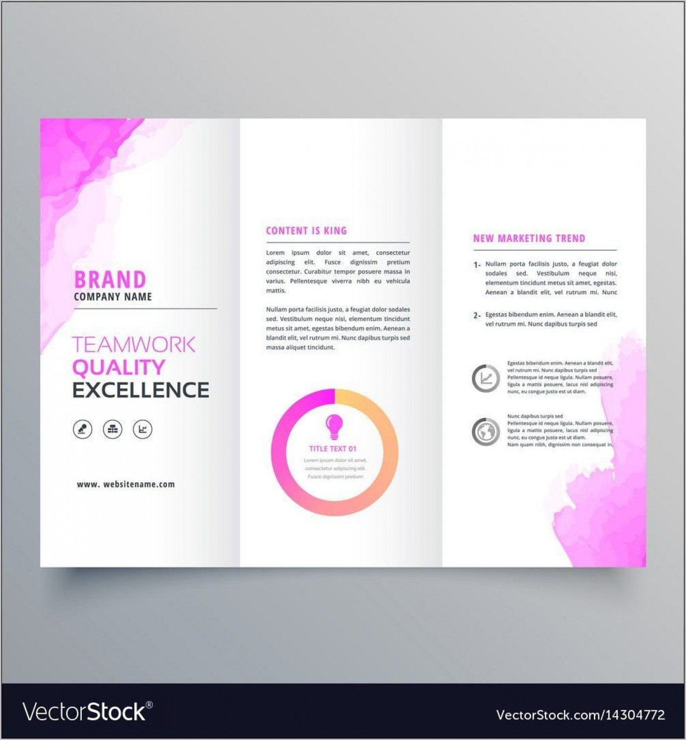 000 Striking Download Brochure Template For Word 2007 Photo 1400