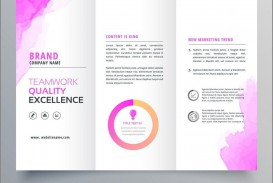 000 Striking Download Brochure Template For Word 2007 Photo