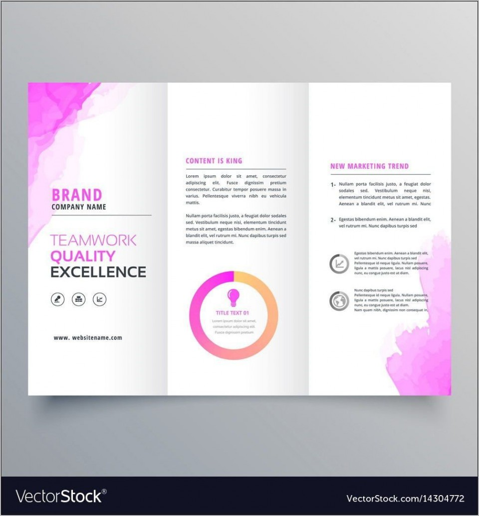 000 Striking Download Brochure Template For Word 2007 Photo 960