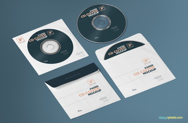 000 Striking Free Cd Cover Design Template Photoshop High Resolution  Label Psd Download728