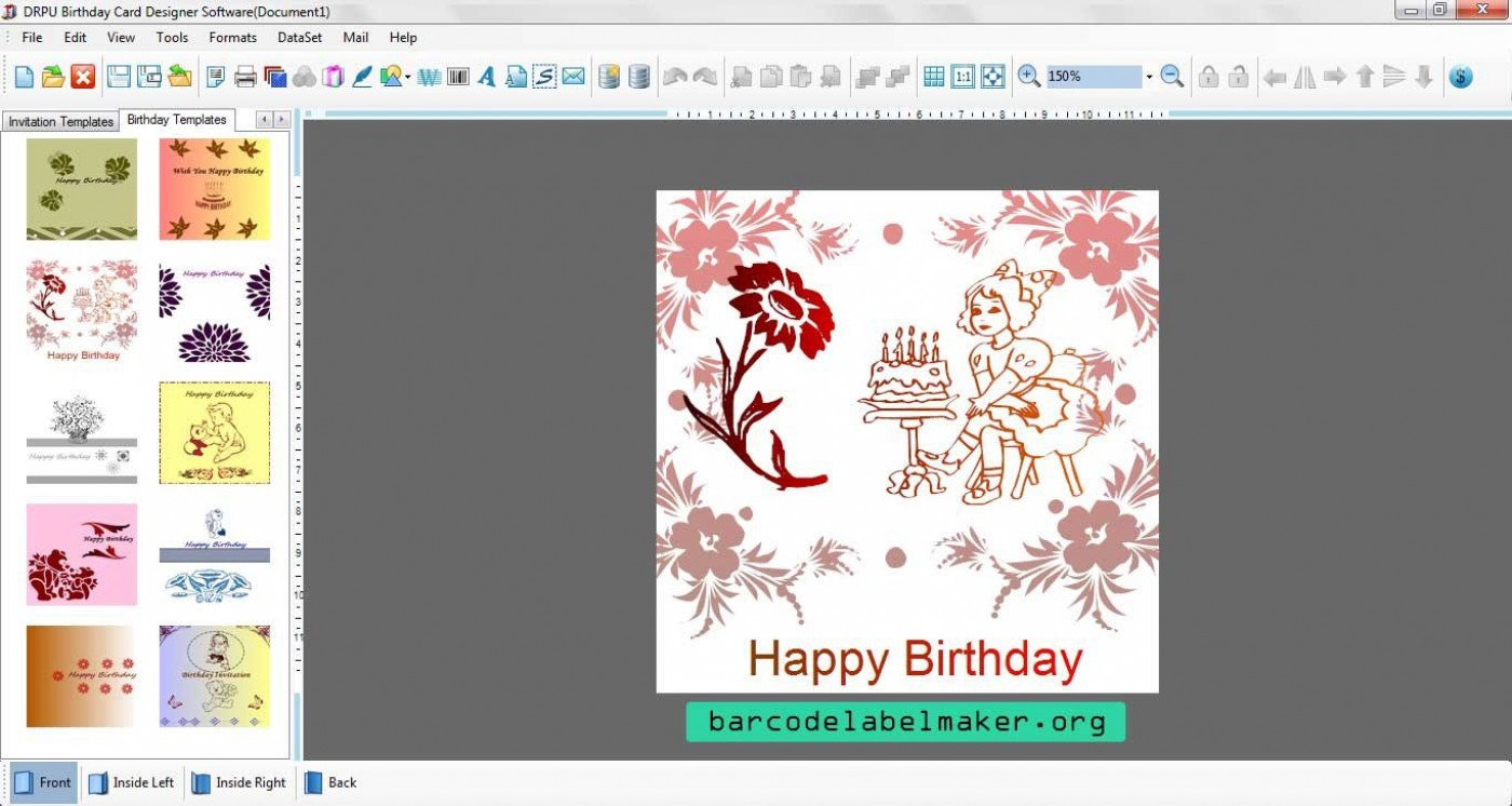 000 Striking Free Download Wedding Invitation Maker Software Sample  Video For Window 7 Card1400