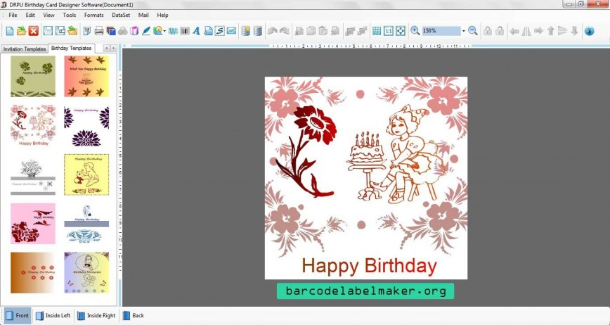 000 Striking Free Download Wedding Invitation Maker Software Sample  Video For Window 7 Card868