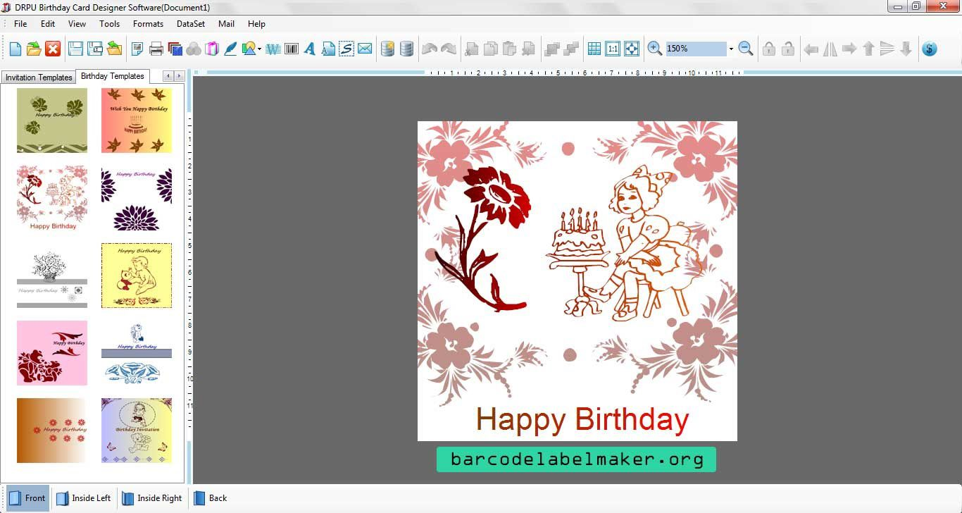 000 Striking Free Download Wedding Invitation Maker Software Sample  Video For Window 7 CardFull