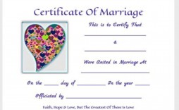 000 Striking Free Marriage Certificate Template Inspiration  Renewal Translation From Spanish To English Wedding Download