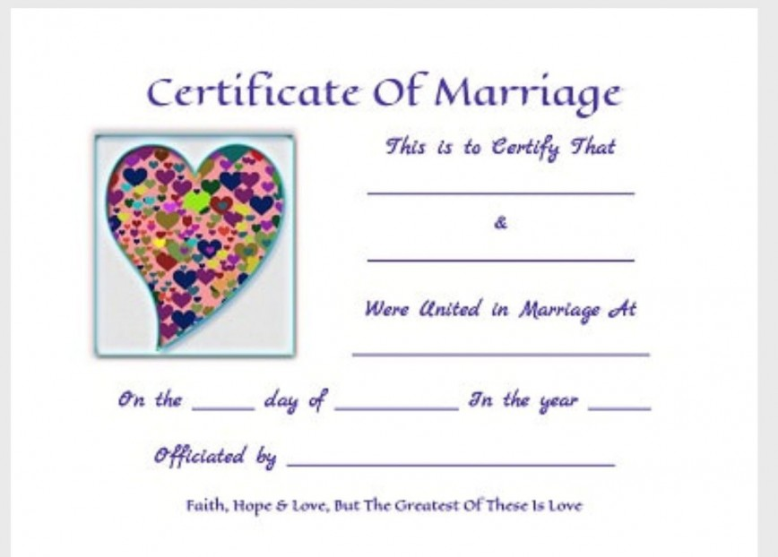 000 Striking Free Marriage Certificate Template Inspiration  Online Translation Wedding Download