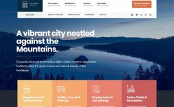 000 Striking Government Website Html Template Free Download High Definition  With Cs