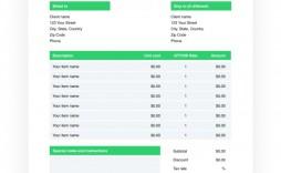000 Striking Invoice Template Google Doc Highest Quality  Docs Sample Blank Simple