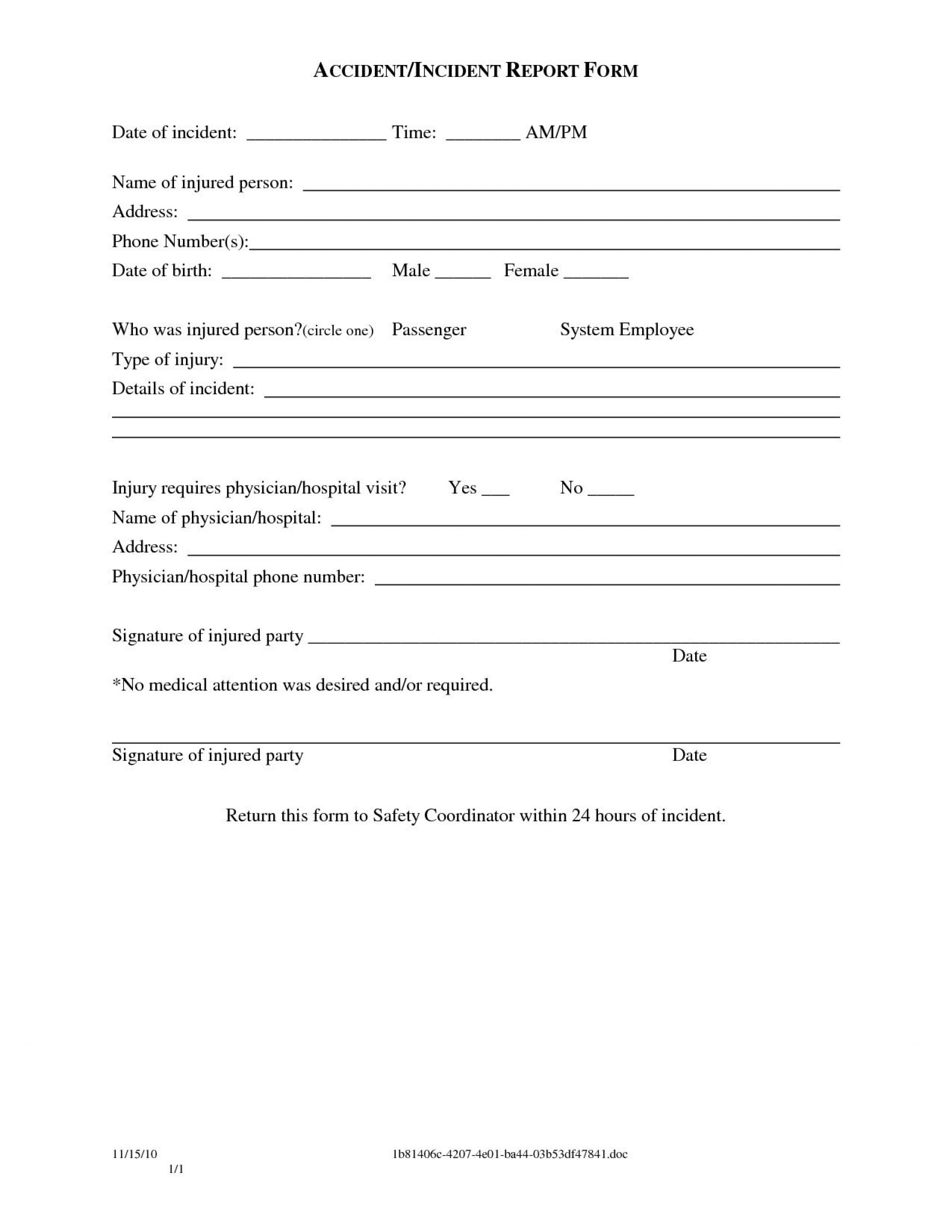 000 Striking Police Report Template Microsoft Word Highest Clarity 1920