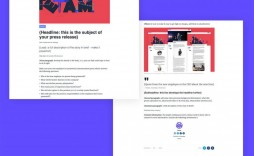 000 Striking Template For Pres Release Idea  Boilerplate About Event Email