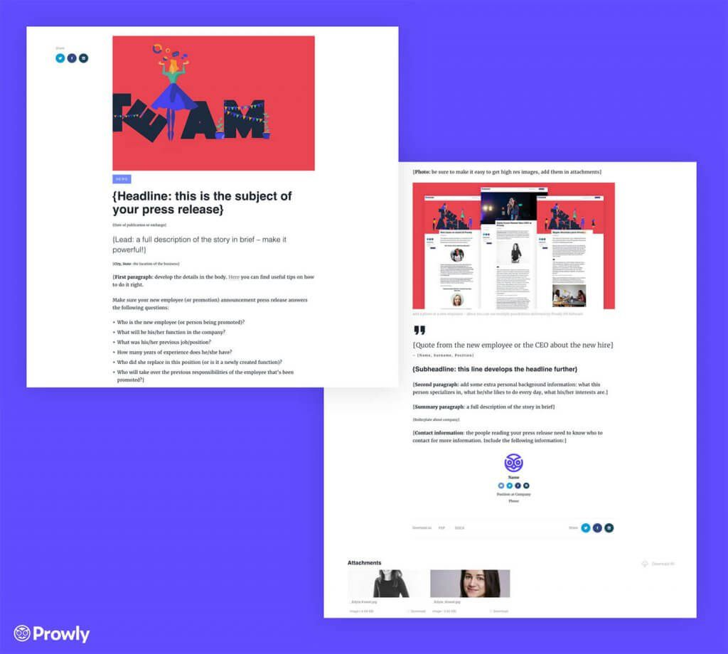 000 Striking Template For Pres Release Idea  Boilerplate About Event EmailFull