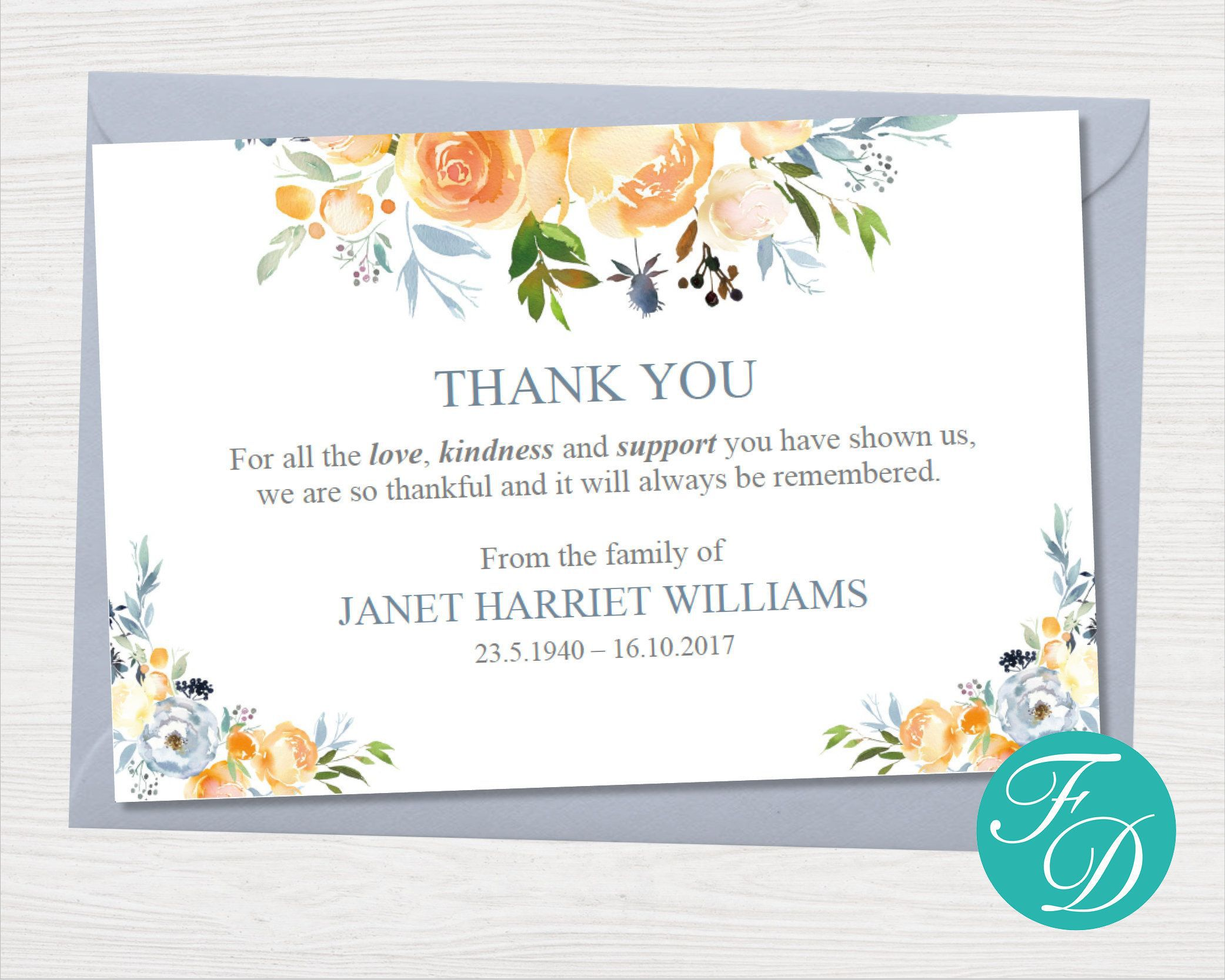 000 Striking Thank You Note Card Template Word Concept Full