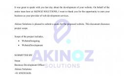 000 Striking Web Development Proposal Template Free Example