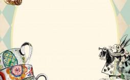 000 Stunning Alice In Wonderland Invitation Template Download Design  Free