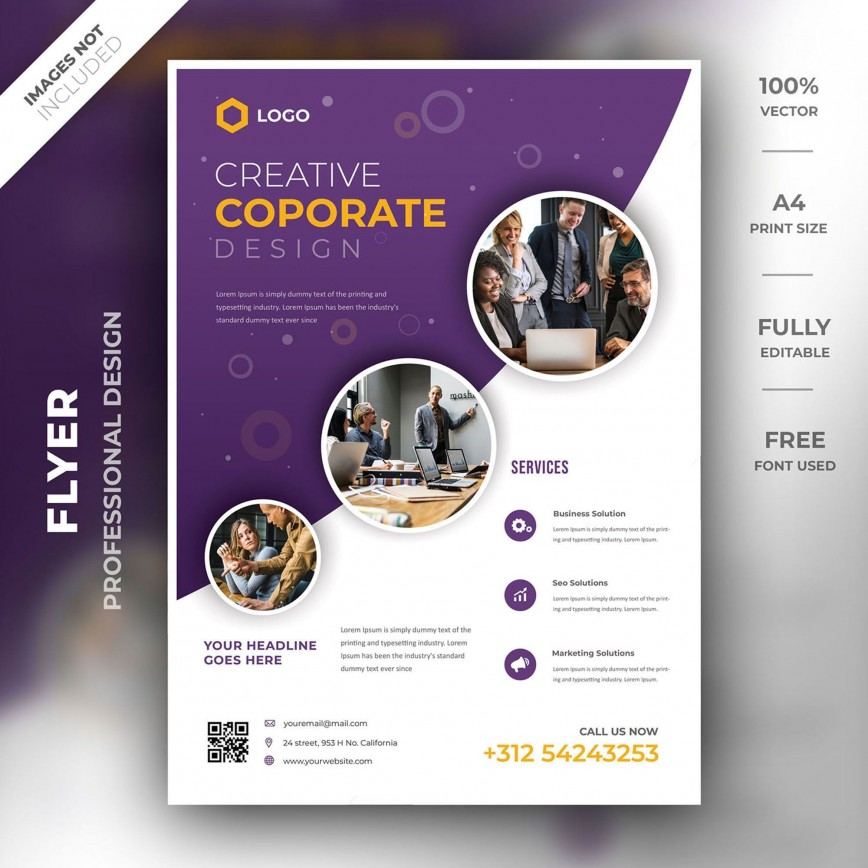 000 Stunning Brochure Template Photoshop Cs6 Free Download Highest Clarity 868