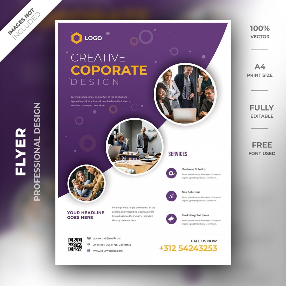 000 Stunning Brochure Template Photoshop Cs6 Free Download Highest Clarity 960