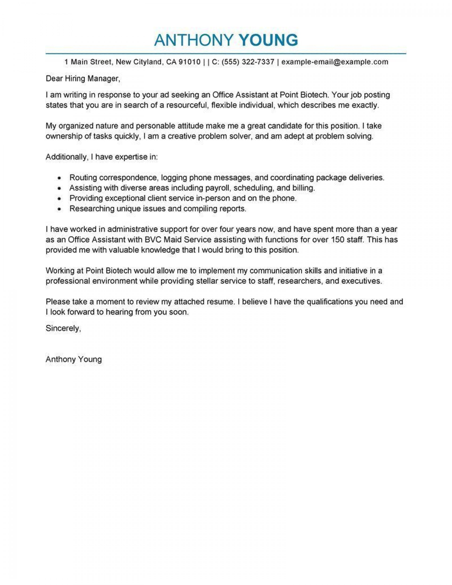 000 Stunning Cover Letter Template For Online Posting Inspiration 1920