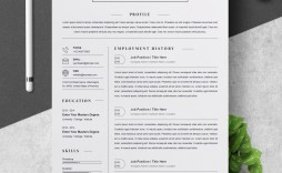 000 Stunning Curriculum Vitae Word Template Highest Clarity  Templates Download M 2019 Cv Free