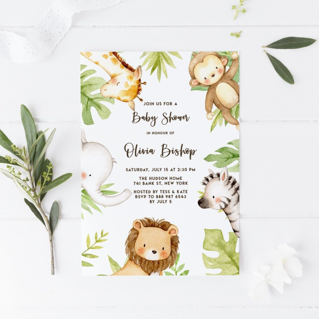 000 Stunning Diy Baby Shower Invitation Template Example  Templates Diaper FreeLarge
