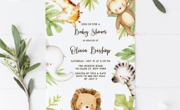 000 Stunning Diy Baby Shower Invitation Template Example  Templates Diaper Free