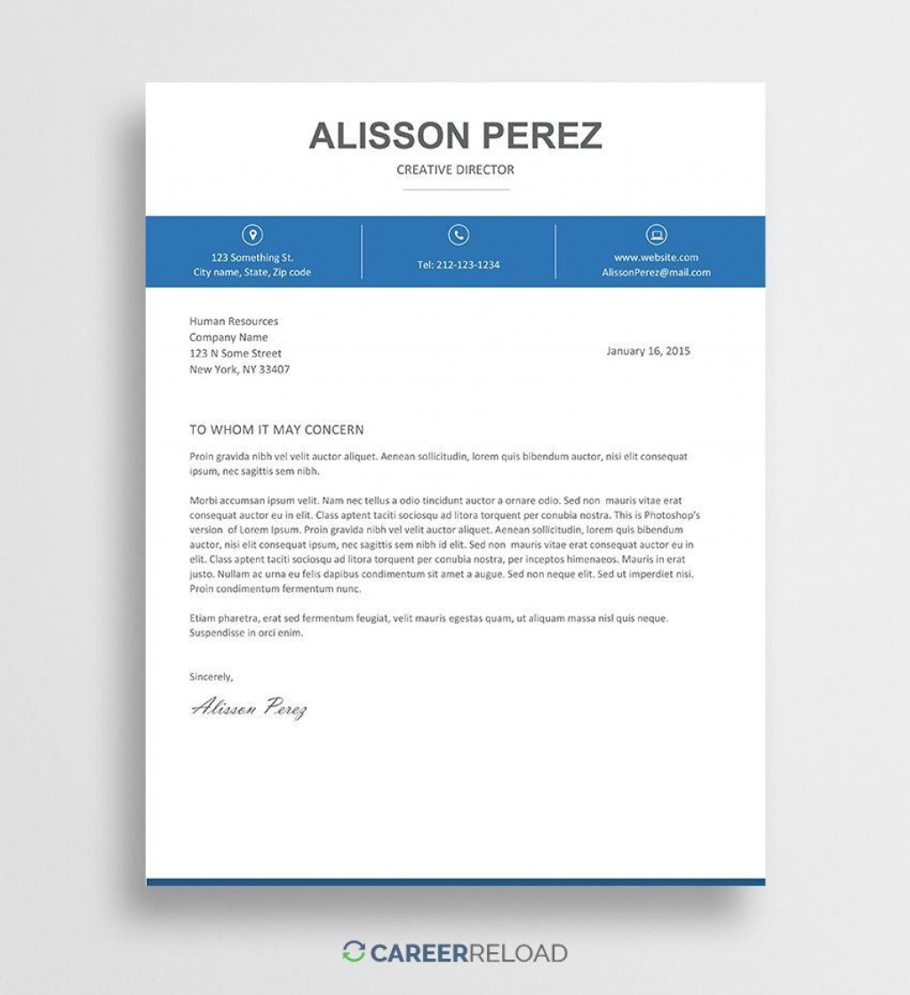 000 Stunning Download Free Cover Letter Template Word High Resolution  Microsoft Document ModernLarge