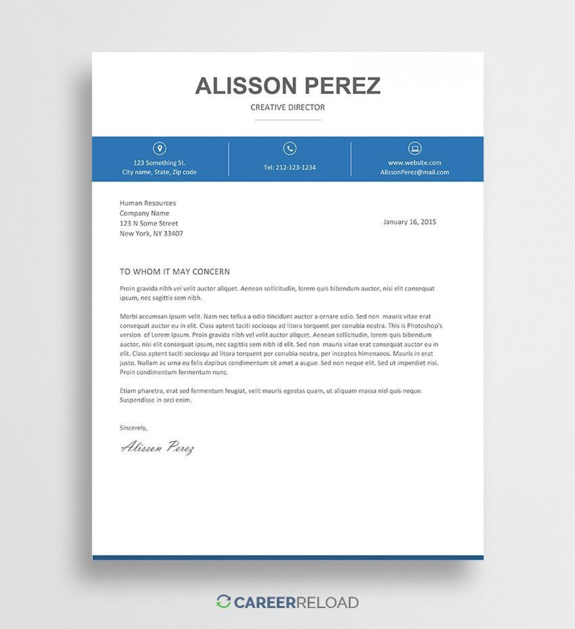 000 Stunning Download Free Cover Letter Template Word High Resolution  Microsoft Document Modern1920