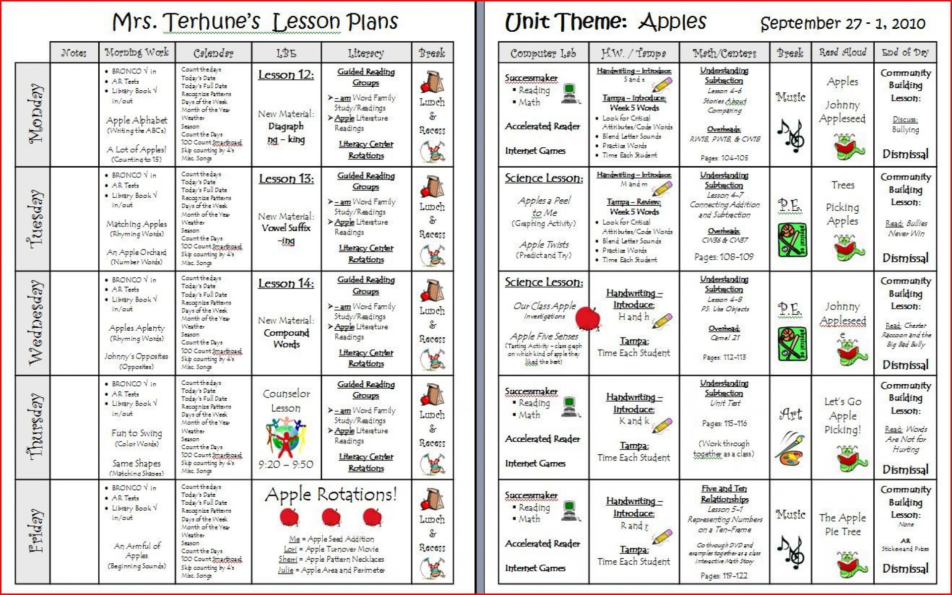 000 Stunning Downloadable Lesson Plan Template Inspiration  Printable Weekly Pdf Free Word1920