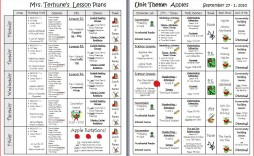 000 Stunning Downloadable Lesson Plan Template Inspiration  Printable Weekly Pdf Free Word