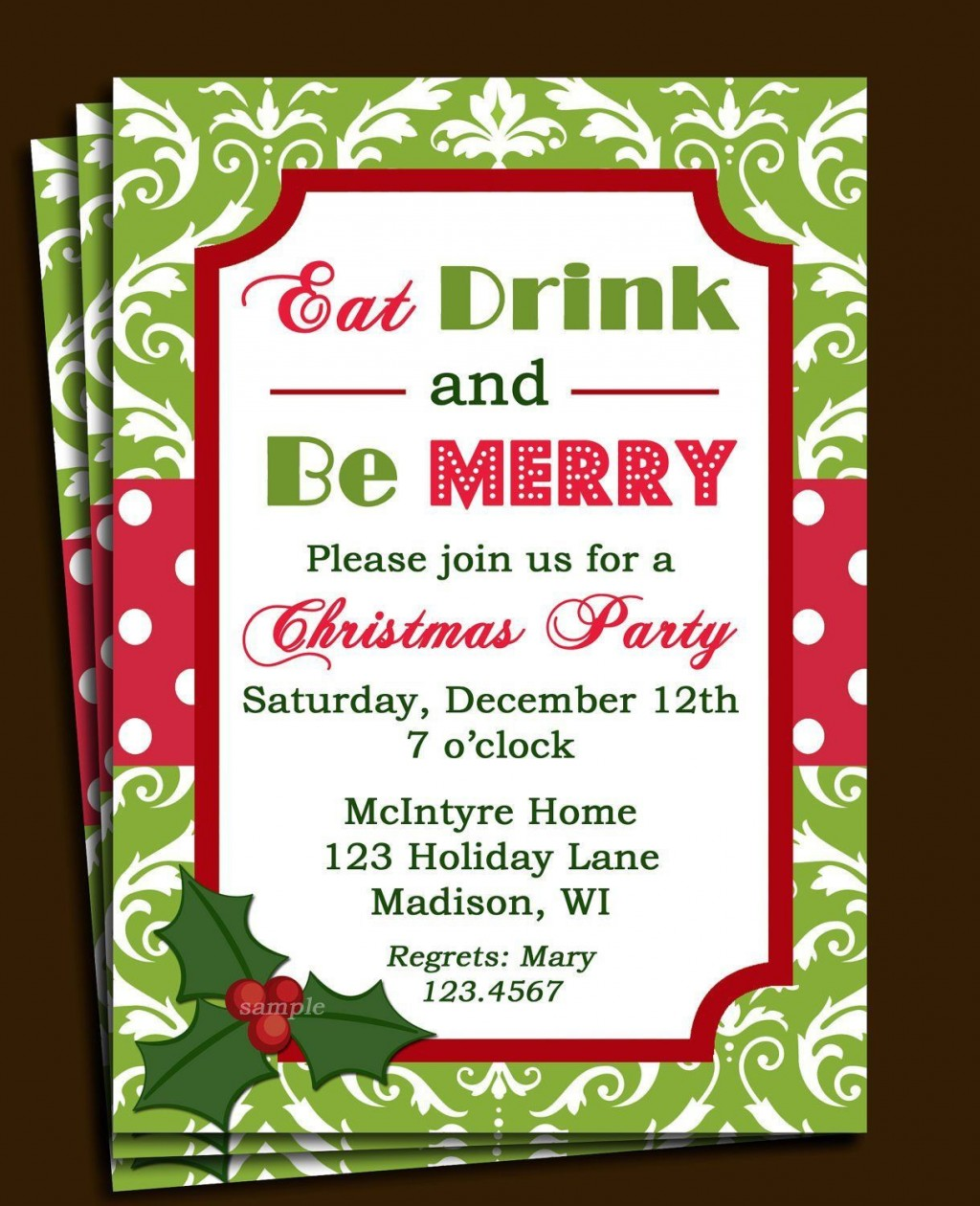 000 Stunning Free Email Holiday Party Invitation Template Highest Quality  Templates ChristmaLarge