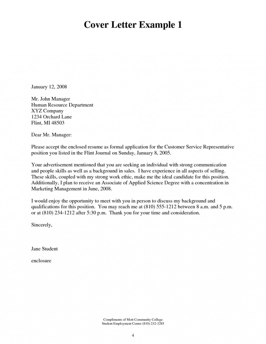 000 Stunning Microsoft Cover Letter Template 2020 Inspiration Large