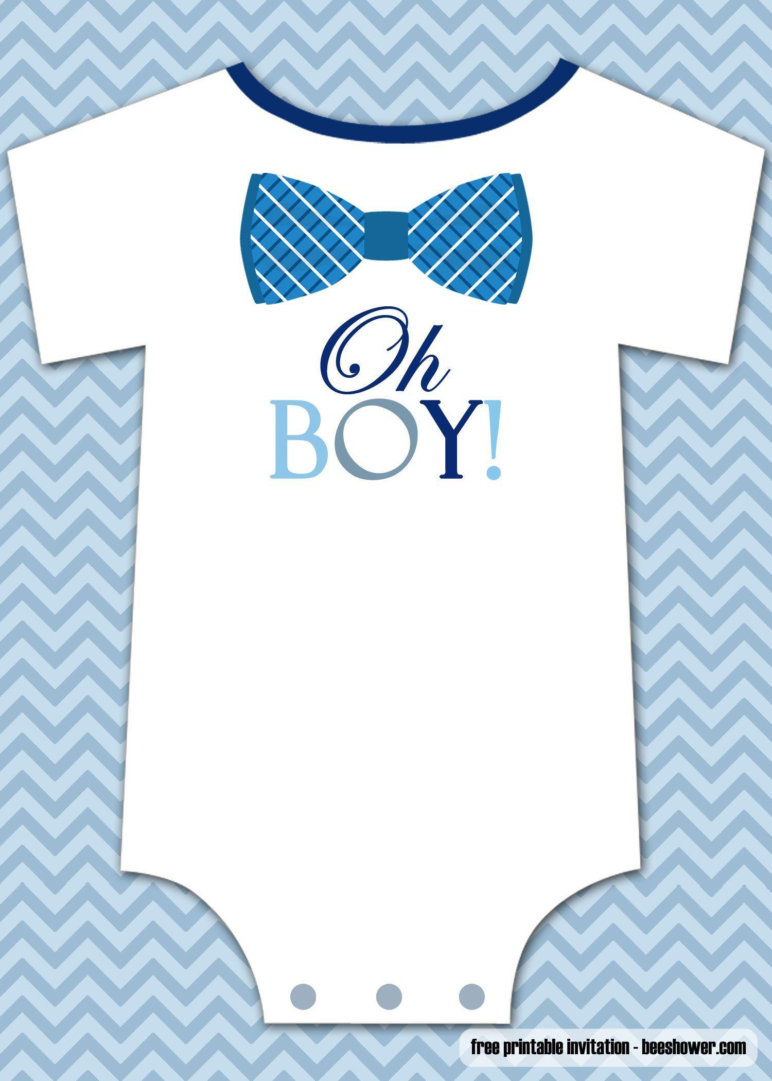 000 Stunning Onesie Baby Shower Invitation Template Inspiration  FreeFull