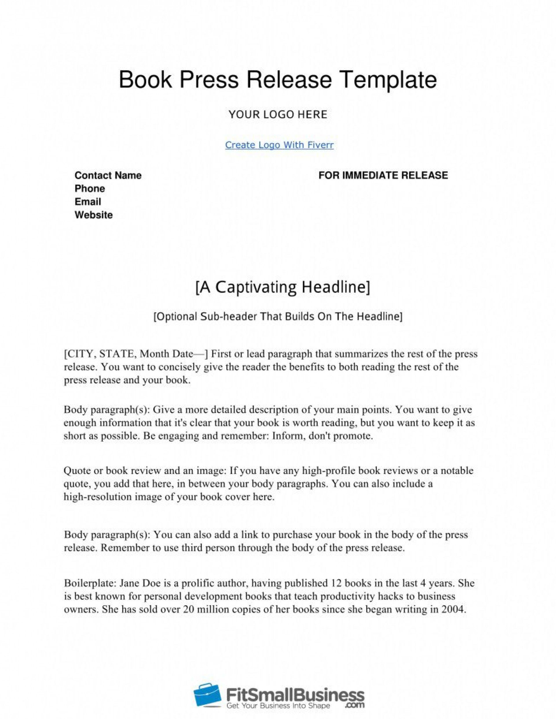 000 Stunning Pres Release Template Free High Definition  Google Doc DownloadFull